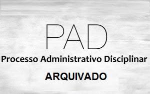 Photo of PROCESSO ADMINISTRATIVO DISCIPLINAR ARQUIVADO