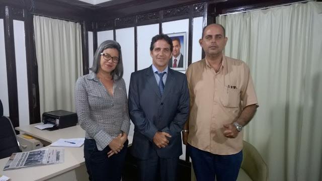 Photo of REUNIÃO DA DIRETORIA DO SINDASP-PE COM SECRETÁRIO EXECUTIVO DE RESSOCIALIZAÇÃO E AGENTE PENITENCIÁRIO CÍCERO MÀRCIO