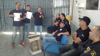 Photo of DIRETORIA DO SINDASP-PE ESTÁ VISITANDO AS UNIDADES PRISIONAIS PARA ORIENTAÇÃO DE ENTREGA DO PJES