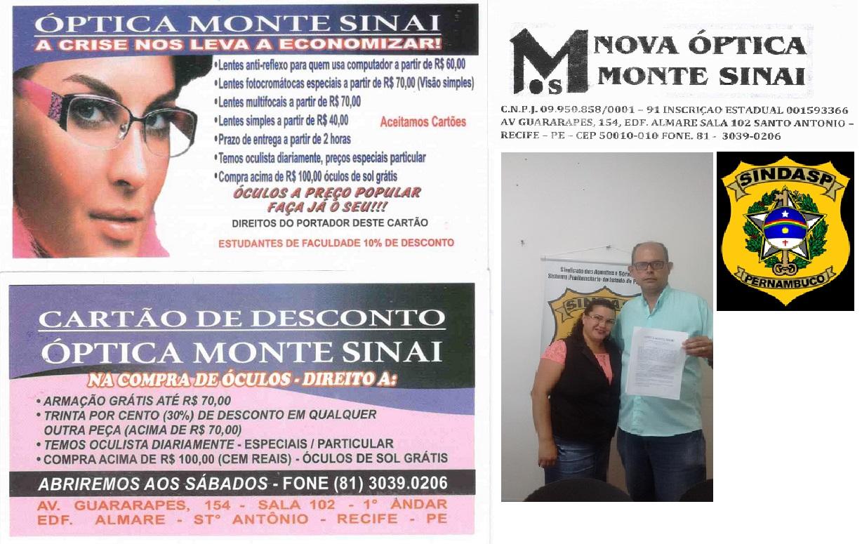 Photo of SINDASP FIRMA CONVÊNIO COM ÓPTICA MONTE SINAI QUE APRESENTA PREÇOS POPULARES