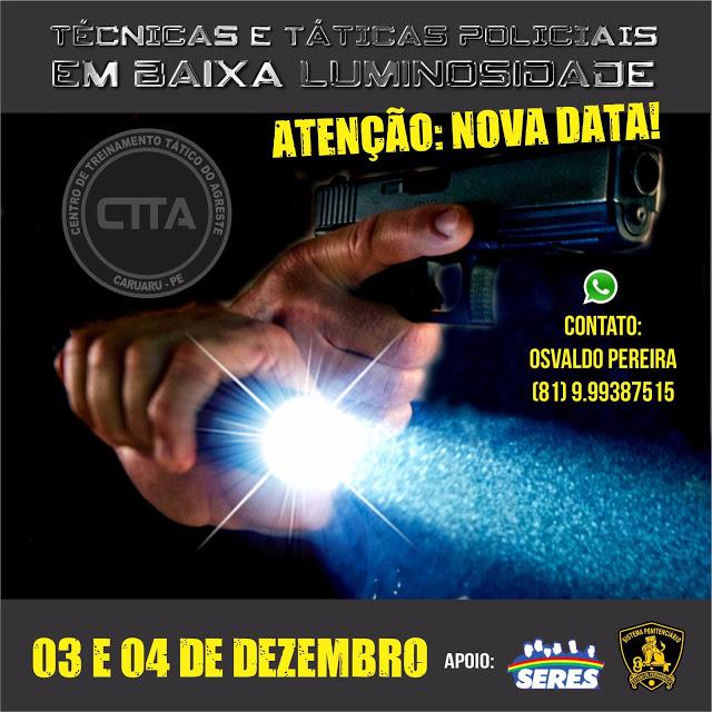 Photo of INSCRIÇÕES DE CURSO DE TÉCNICAS E TÁTICAS EM BAIXA LUMINOSIDADE – LOW LIGHT SERÁ ATÉ SEXTA-FEIRA