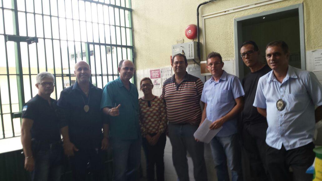 Photo of SINDASP-PE VISITOU O PRESÍDIO DE ARCOVERDE E FEZ ESCLARECIMENTOS SOBRE NEGOCIAÇÃO E ASSEMBLÉIA GERAL