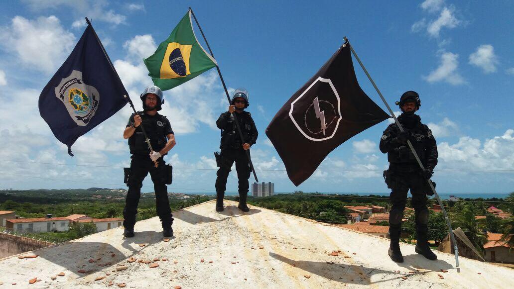 Photo of Agentes Penitenciários de Pernambuco na Força-tarefa de Intervenção Penitenciária