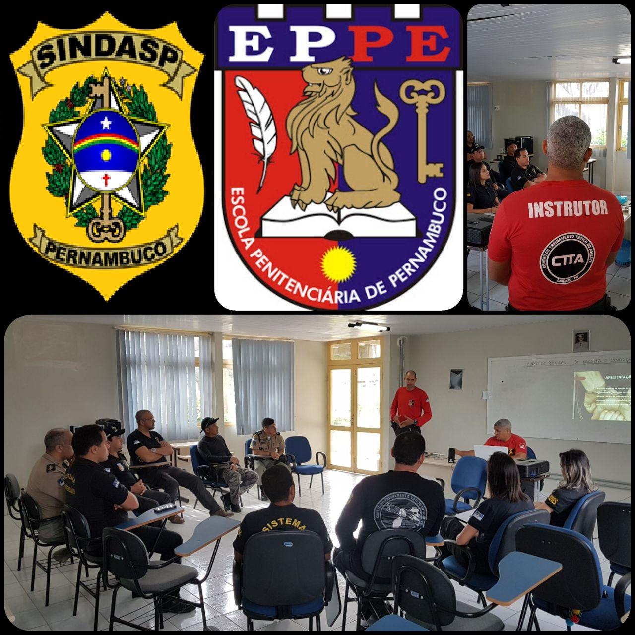 Photo of SINDASP-PE FAZ PARCERIA COM A EPPE PARA CURSO AOS AGENTES PENITENCIÁRIOS