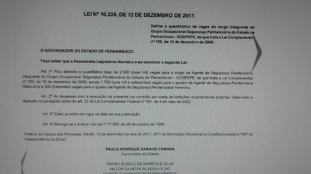 Photo of SINDASP PE ARTICULOU E LEI FOI SANCIONADA