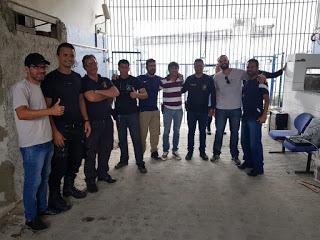 Photo of DIRETORIA DO SINDASP-PE VISITA UNIDADES PARA OUVIR A CATEGORIA E FAZ CAMPANHA DE FILIAÇÃO