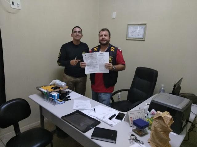 Photo of DIRETORIA DO SINDASP-PE VISITANDO O PRESÍDIO DE SANTA CRUZ DO CAPIBARIBE