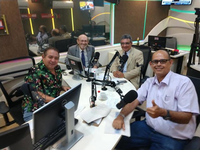 Photo of PRESIDENTE DO SINDASP-PE JOÃO CARVALHO PARTICIPOU DO DEBATE NA RÁDIO JORNAL SOBRE O SISTEMA PENITENCIÁRIO