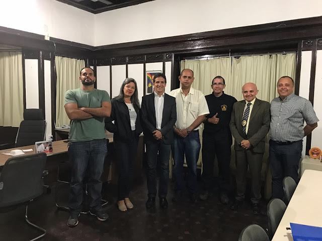 REUNIÃO DA DIRETORIA DO SINDASP-PE COM A SECRETARIA EXECUTIVA DE RESSOCIALIZAÇÃO PARA TRATAR DE PROPOSTAS PARA MELHORIAS FUNCIONAIS