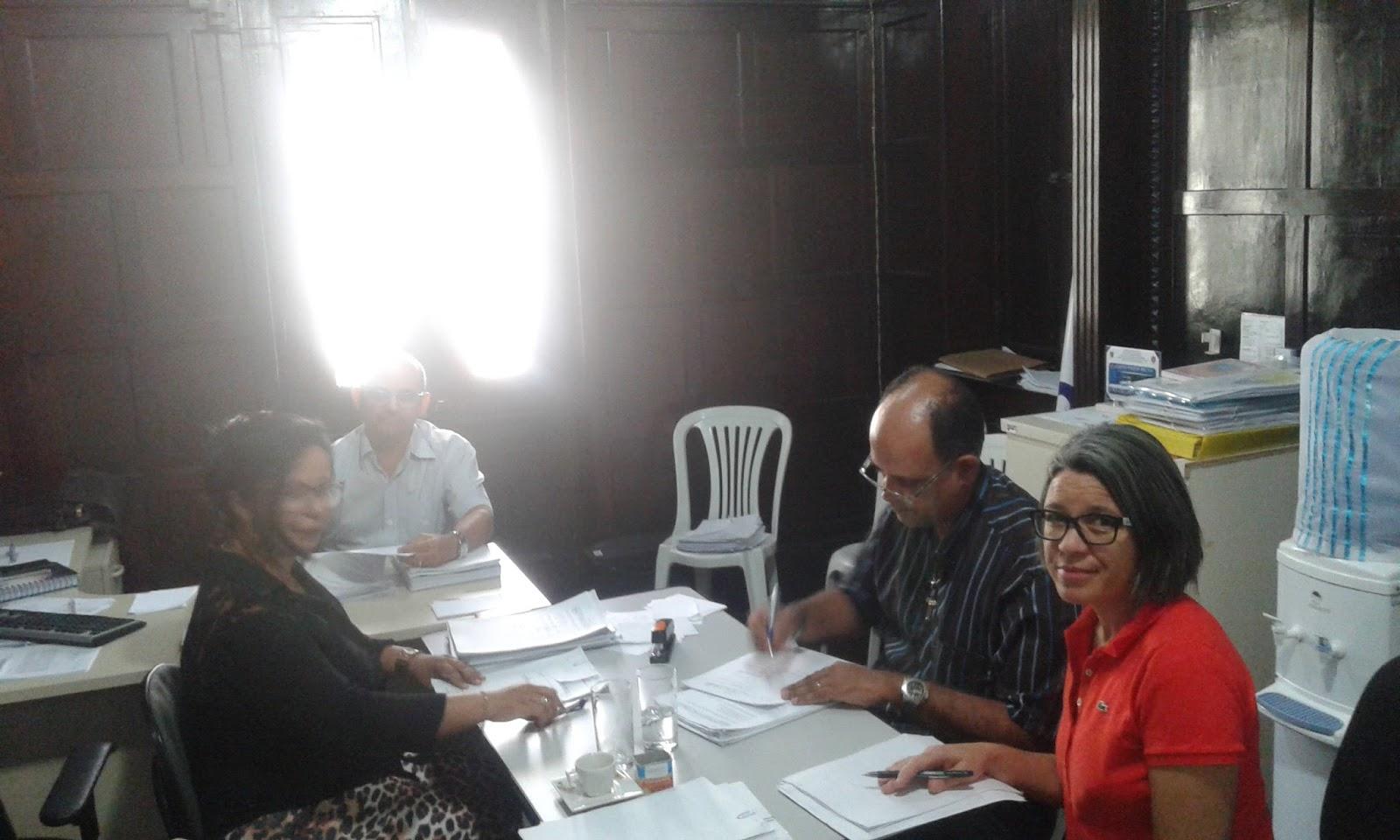Photo of Comissão paritária reuniu-se nesta última quinta-feira para avaliação de novos processos para cursos de qualificação