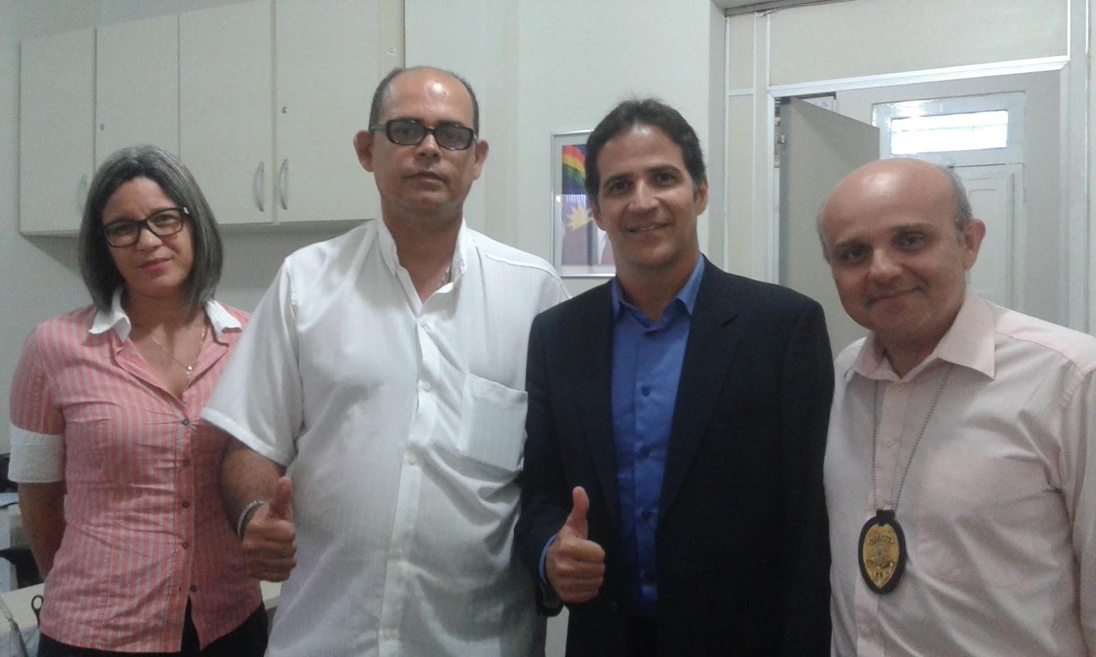 Photo of DIRETORIA DO SINDASP-PE REUNIU-SE COM O NOVO SECRETÁRIO EXECUTIVO DE RESSOCIALIZAÇÃO CÍCERO