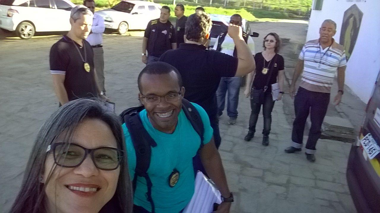 Photo of DIRETORIA DO SINDASP-PE VISITA O PRESÍDIO DE CANHOTINHO ONDE PARTICIPA DO PLANEJAMENTO ESTRATÉGICO NO PROJETO TODOS PELA SERES