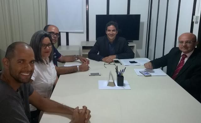 Photo of DIRETORIA DO SINDICATO REUNIU-SE COM O SECRETÁRIO E TRATOU DE QUESTÕES RELEVANTES PARA A CATEGORIA