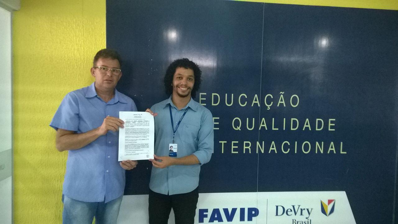 Photo of SINDASP RENOVA CONVÊNIO COM A UNIFAVIP NO MUNICÍPIO DE CARUARU