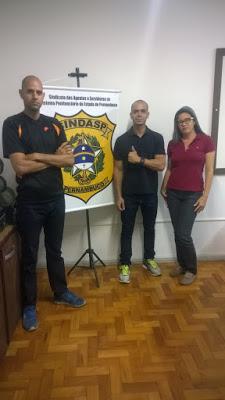 Photo of DIRETORIA DO SINDASP-PE PATROCINOU FILIADOS PARA CURSO TÁTICO NA PARAÍBA