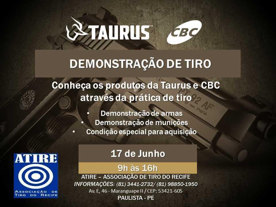 Photo of SINDASP-PE INFORMA DEMONSTRAÇÃO DE TIRO PELA TAURUS