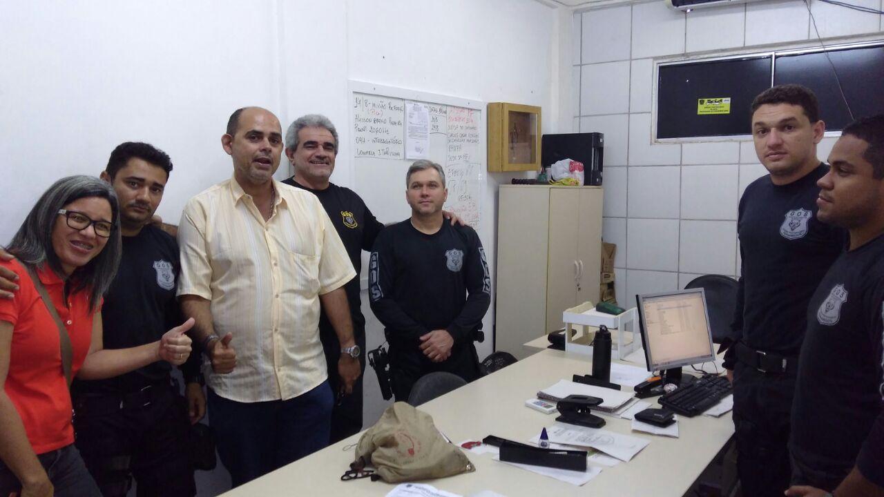 Photo of DIRETORIA DO SINDASP-PE VISITANDO A CENTRAL DE APRESENTAÇÃO DE PRESOS (CAPS) E GERÊNCIA DE OPERAÇÕES E SEGURANÇA (GOS)