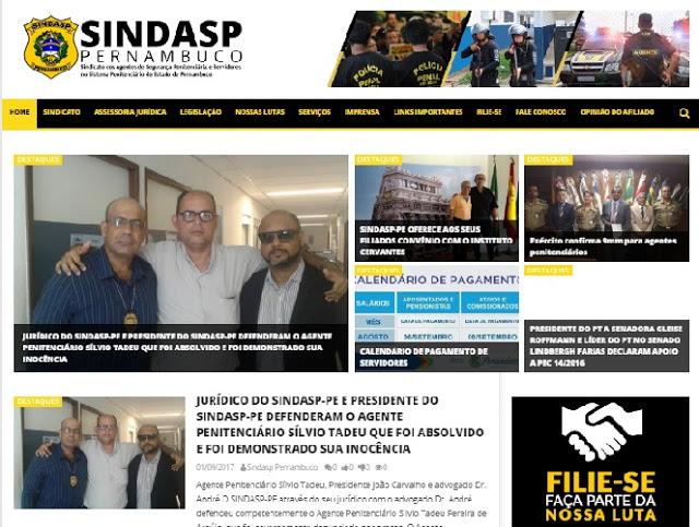 Photo of SINDASP-PE AGORA TEM A DISPOSIÇÃO O NOVO SITE PARA MELHORES SERVIÇOS E INFORMAÇÕES