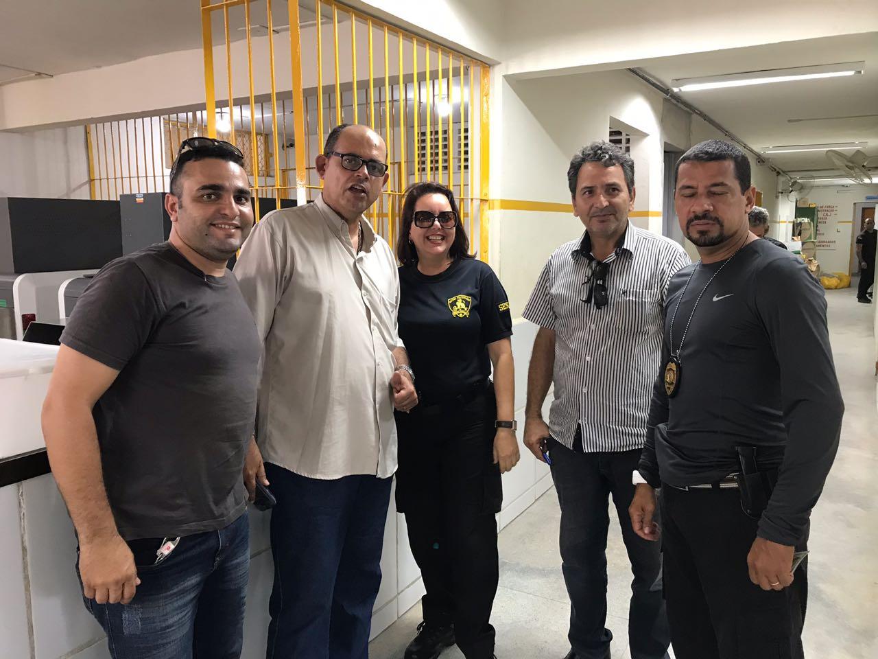 Photo of DIRETORIA DO SINDASP-PE VISITA UNIDADES PARA ESCLARECIMENTOS