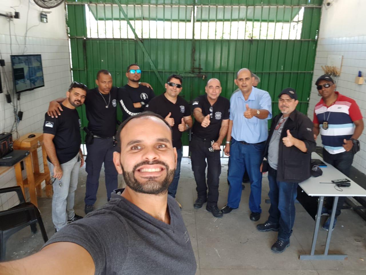 Photo of DIRETORIA DO SINDASP-PE VISITOU AS UNIDADES DO COTEL E CPFAL
