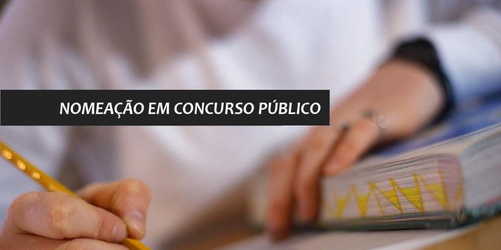 Photo of NOMEAÇÃO DOS CONCURSADOS