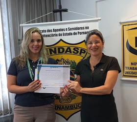 Photo of SINDASP-PE MANTEM CONVÊNIO COM A FACULDADE ESTÁCIO